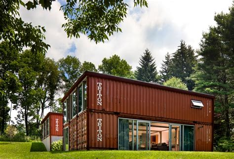 Kit Homes New Mexico by Adam Kalkin Double Storey Shipping Container House
