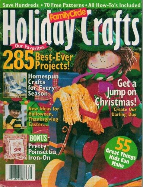 christmas magazine family circle womans day holiday issue