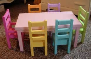 table and chairs for american dolls doll dining table and chairs set for by paynestdollboutique
