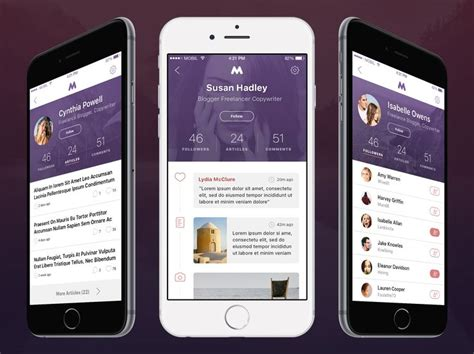 68 Best Mobile Interfaces Social Dating Images On Pinterest User Interface App Design And Mobile Dating App Template