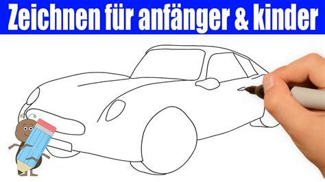 Auto Malen Mit Kindern by Auto Zeichnen In 60s Zeichnen Lernen F 252 R Anf 228 Nger