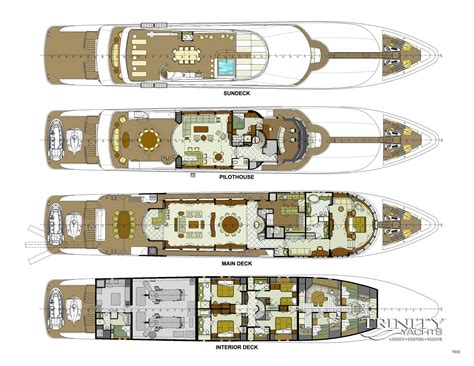 luxury yacht floor plans pinterest the world s catalog of ideas