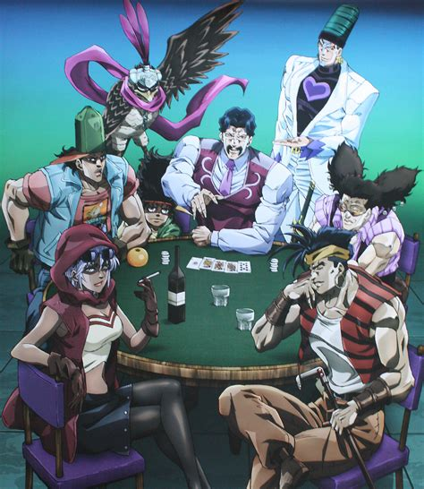 jojo stardust crusaders the nine gods jojo s adventure