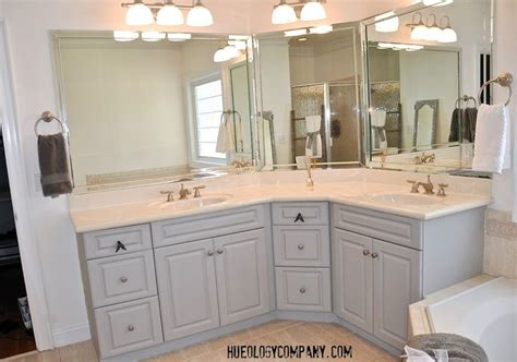 painting bathroom cabinets white bathroom cabinets painted with grey chalk paint and