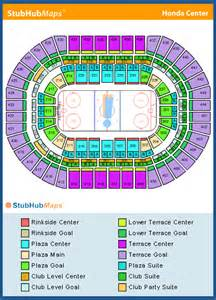 Honda Center Address Honda Center Seating Chart Pictures Directions And