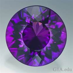 what gives the gem amethyst its purplish color wedding anniversary gemstone list years one through 10