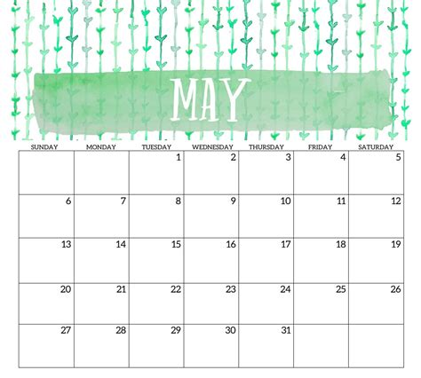 may template 2018 monthly printable templates calendar 2018