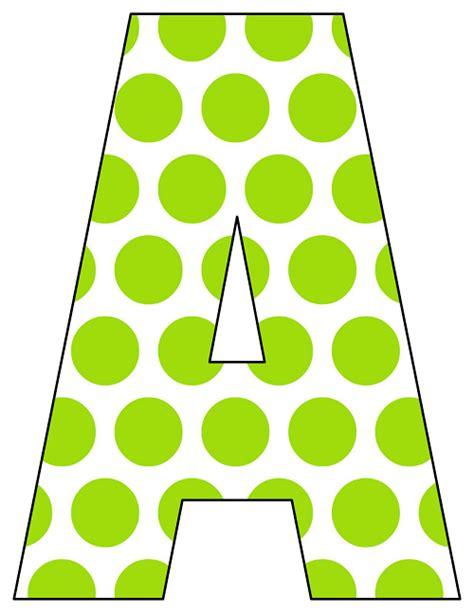 Dot Pattern Alphabet | printable polka dot alphabet letters free printable