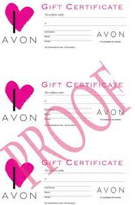 avon gift certificates templates free 1000 images about avon on baths skin