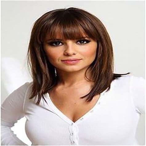 cortes de pelo de mujer media melena 22 cortes de moda para media melena con flequillo