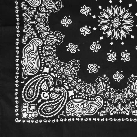 bandana pattern drawing black and white paisley bandana pattern images