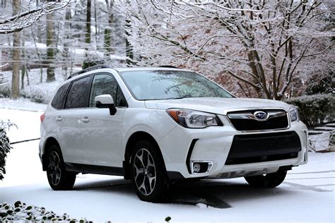 subaru forester white 2014 subaru forester xt six month road test