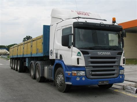 truck photos scania p380