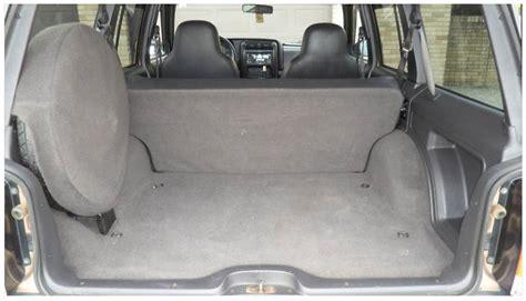 Jeep Cargo Volume Cargo Space