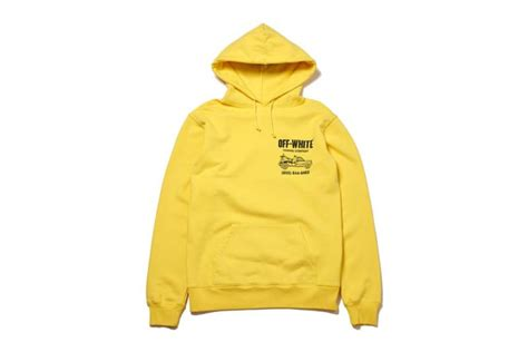 Bantal Hypebeast Offwhite Yellow Line white partners with fragment design to release an exclusive capsule collection complex