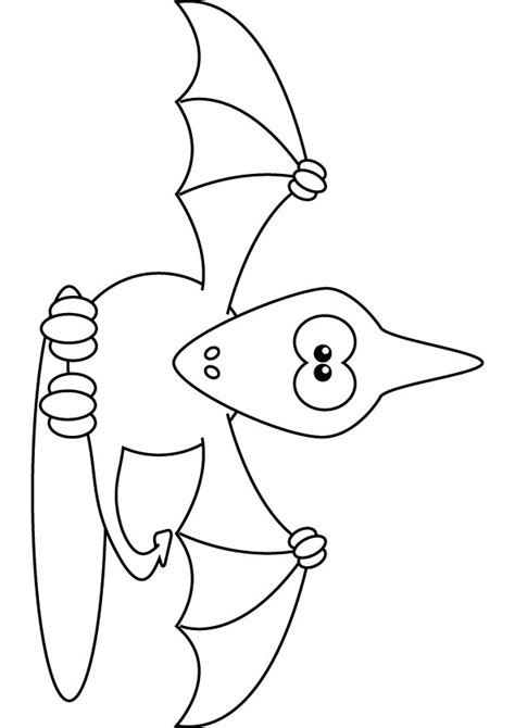 pterodactyl coloring pages coloring pages