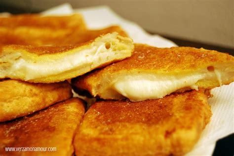 mozzarella en carrozza mozzarella in carrozza ricette verzamonamour d