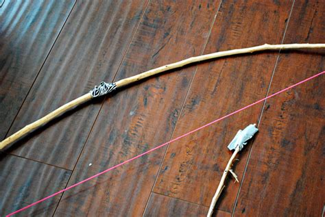 How To Make A Bow And Arrow With Paper - bow arrow for inspired by hunger craft