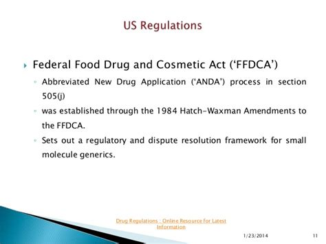 fdca section 505 biosimilar patents
