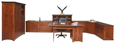 amish office furniture amish mission office furniture