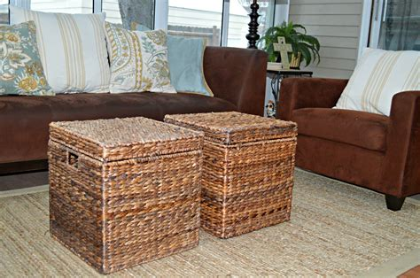 furniture wicker storage basket ideas to make your room