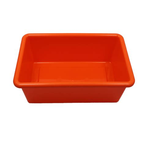 orange accessories cubbie accessories orange tray the knowledge tree