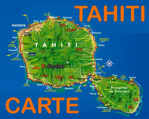 tahiti carte archives voyages cartes