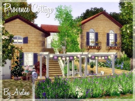 Sims 3 Cottage by The Sims Resource Tsr Provence Cottage By Arelien Sims