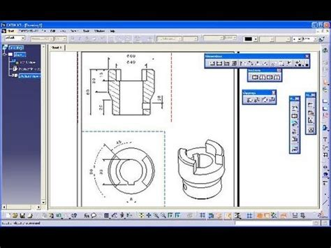 catia section view catia v5 automatic view videolike