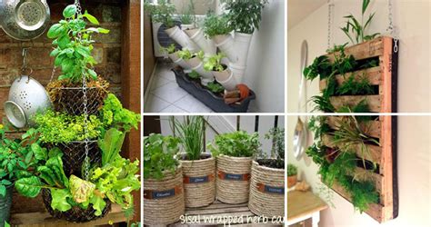 low budget diy home decor low budget and easy container ideas for herb garden