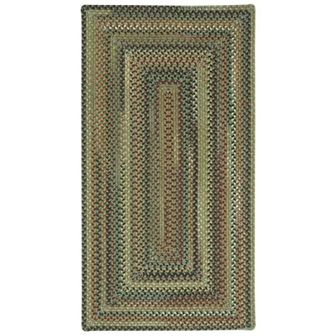1 X 2 Area Rugs - capel bangor green 2 ft x 3 ft concentric area rug
