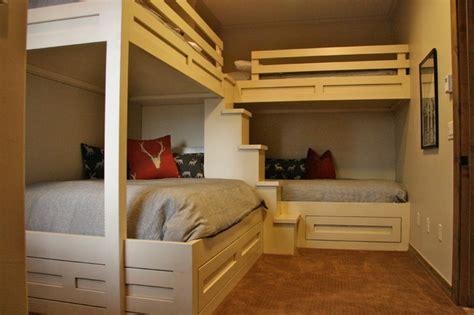 bedroom ideas with bunk beds custom bunk beds