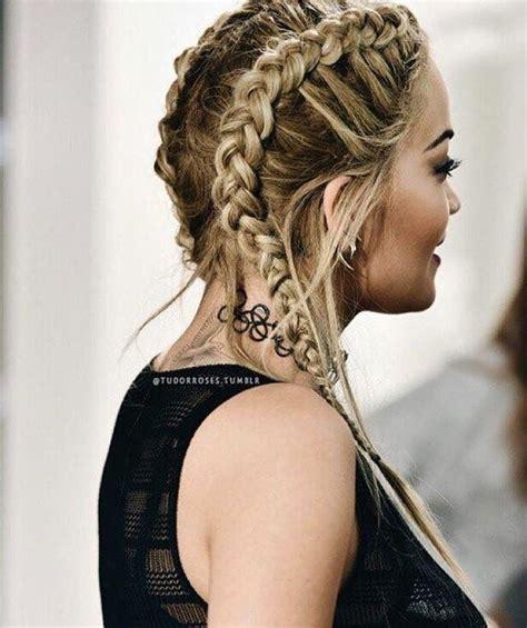 two dutch braids hairstyles 21 cutest dutch braid hairstyles for 2017 sneak a peak
