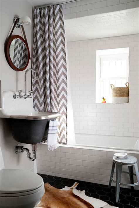 chevron badezimmerideen 18 bathroom curtain designs decorating ideas design