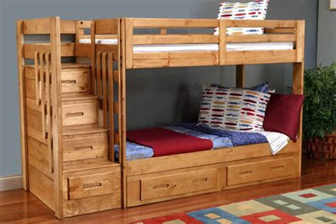 Bunk Beds With Trundle Bed Bunk Bed With Trundle Andreas King Bed Great Bunk Bed With Stairs And Trundle Ideas