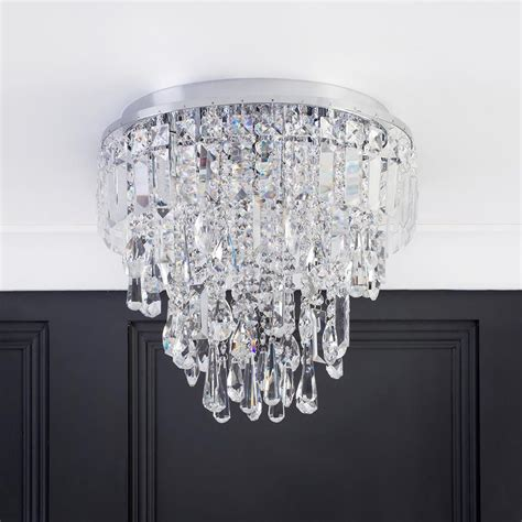 Flush Ceiling Chandeliers by Marquis By Waterford Bresna Led 5 Light Bathroom Flush