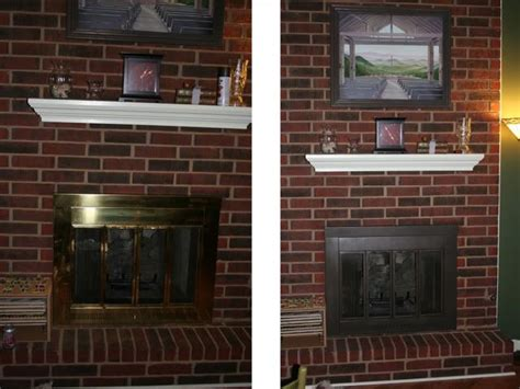 repaint fireplace insert diy things you need to