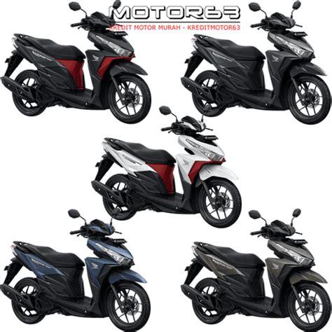 Honda Vario 150 Monotone Iss by Honda Vario 150 Esp Fi Harga Kredit Motor Murah