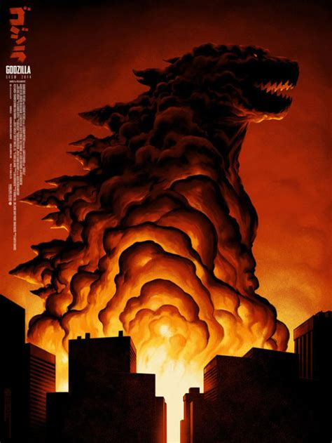 mondo s godzilla poster is ign