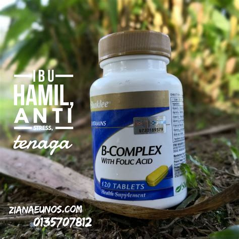 Vitamin B Complex Yang Bagus Bagus Ke B Complex Shaklee Keistimewaan Kebaikan B
