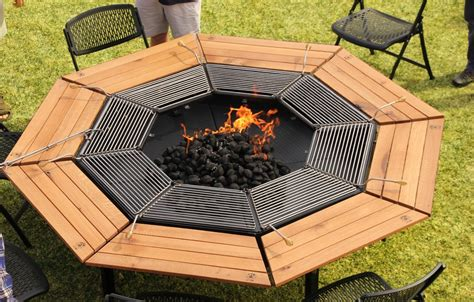 diy pit grill table the jag eight jag grill firepit grill bbq table jag
