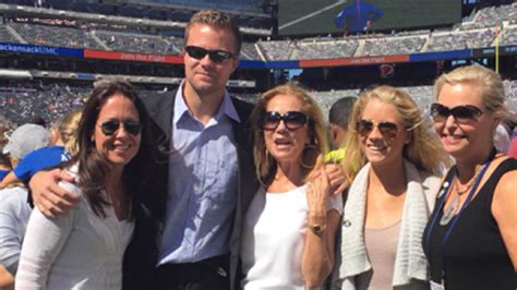 kathie lee gifford assistant frank gifford remembered honored at giants stadium and