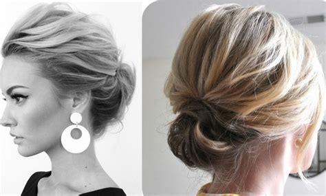 foto de peinado con pelo mediano recogidos para pelo corto peinados que marcan tendencia