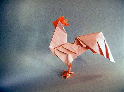Origami China - 2017 new year origami rooster extravaganza