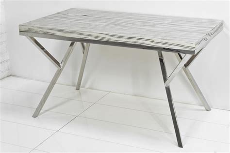 Chrome Dining Table Base Www Roomservicestore Chrome Base Macassar Dining Table