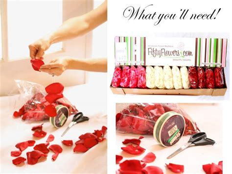 themes for rose day buy bulk rose petals to bring romance to your wedding day
