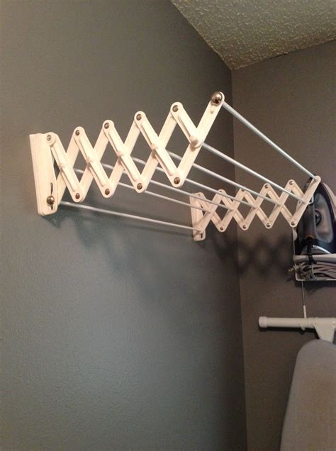 Wall Mounted Expandable Clothes Drying Rack by Wall Mounted Expandable Clothes Drying Rack Cosmecol
