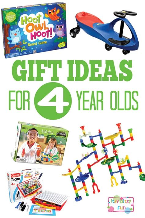 gifts for 4 year olds itsy bitsy fun