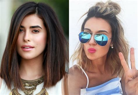 the lob hairstyle trendy lob hairstyles you can today hairdrome