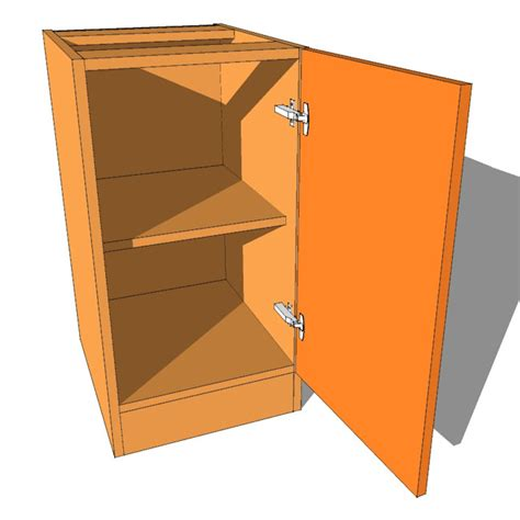 Bedroom Cabinet Doors Bedroom Cabinet Highline Single Door 480mm Supply Only Bedrooms